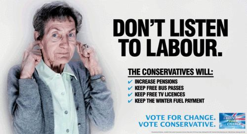 Scottish Conservative Party Poster 2010